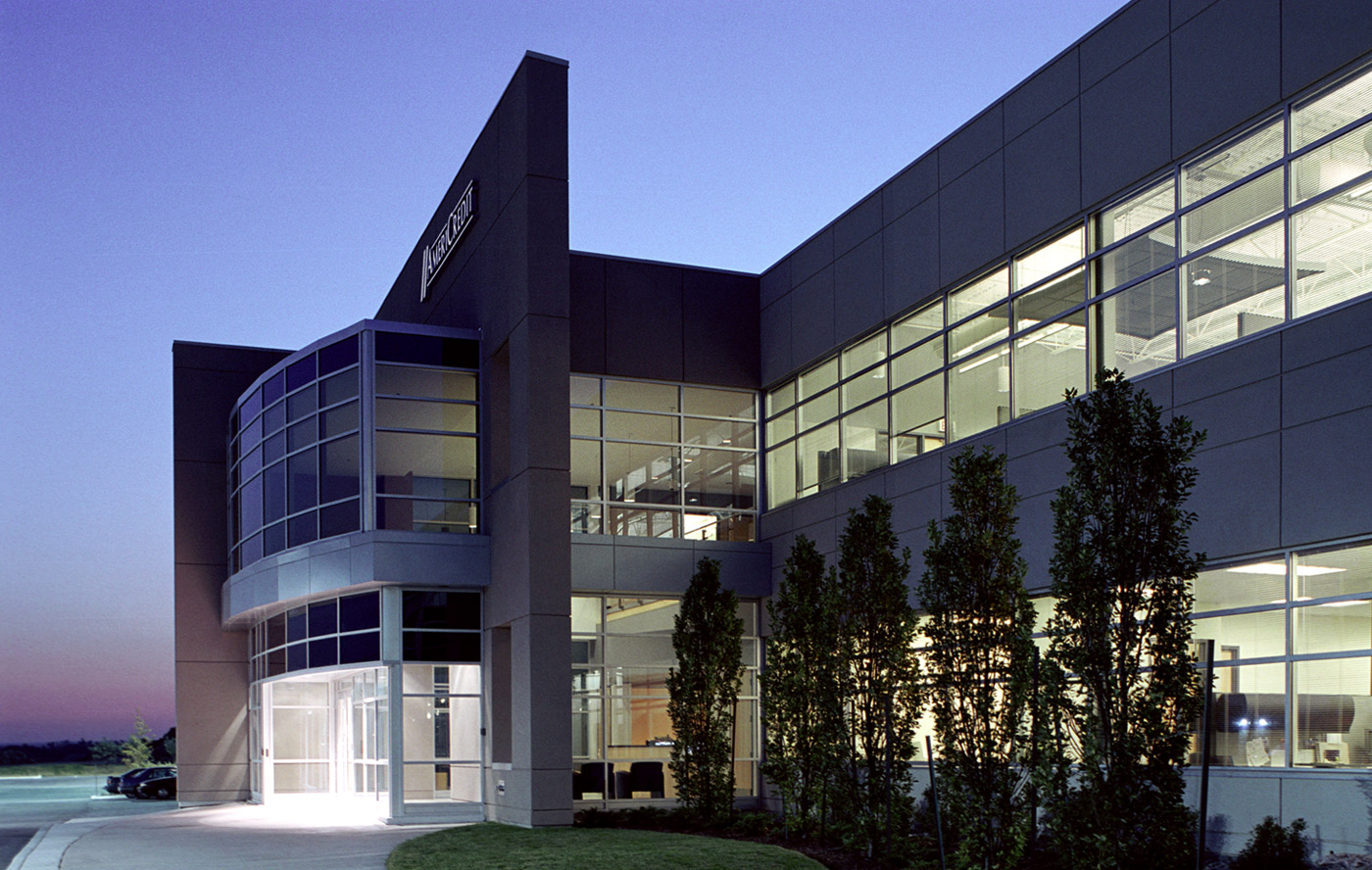 A building built by Signum Corp.
